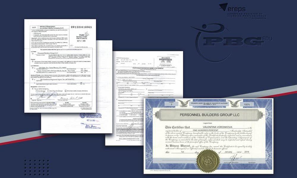 Регистрация ПБГ в США